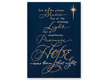 Spiritual Hope Christmas Cards